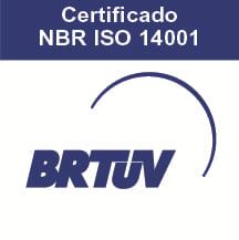 Certificado Sistema Integrado BRTUV ISO 14001